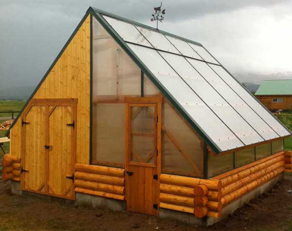 any combination of barn greenhouse chicken coup or all three - Garden Sheds Greenhouses Combined