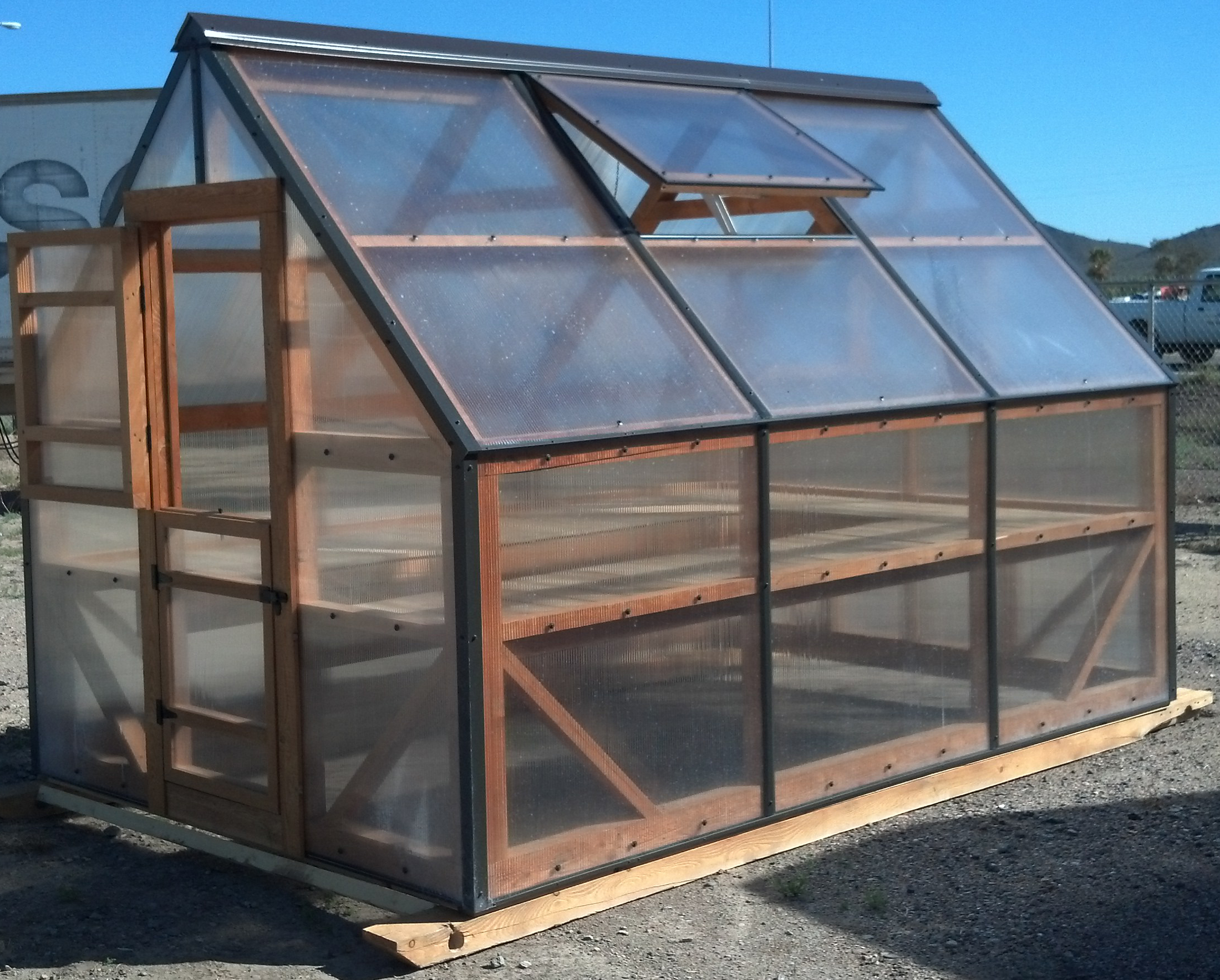 Naumi 20 x 10 garden shed greenhouse ideas for Portable greenhouse plans