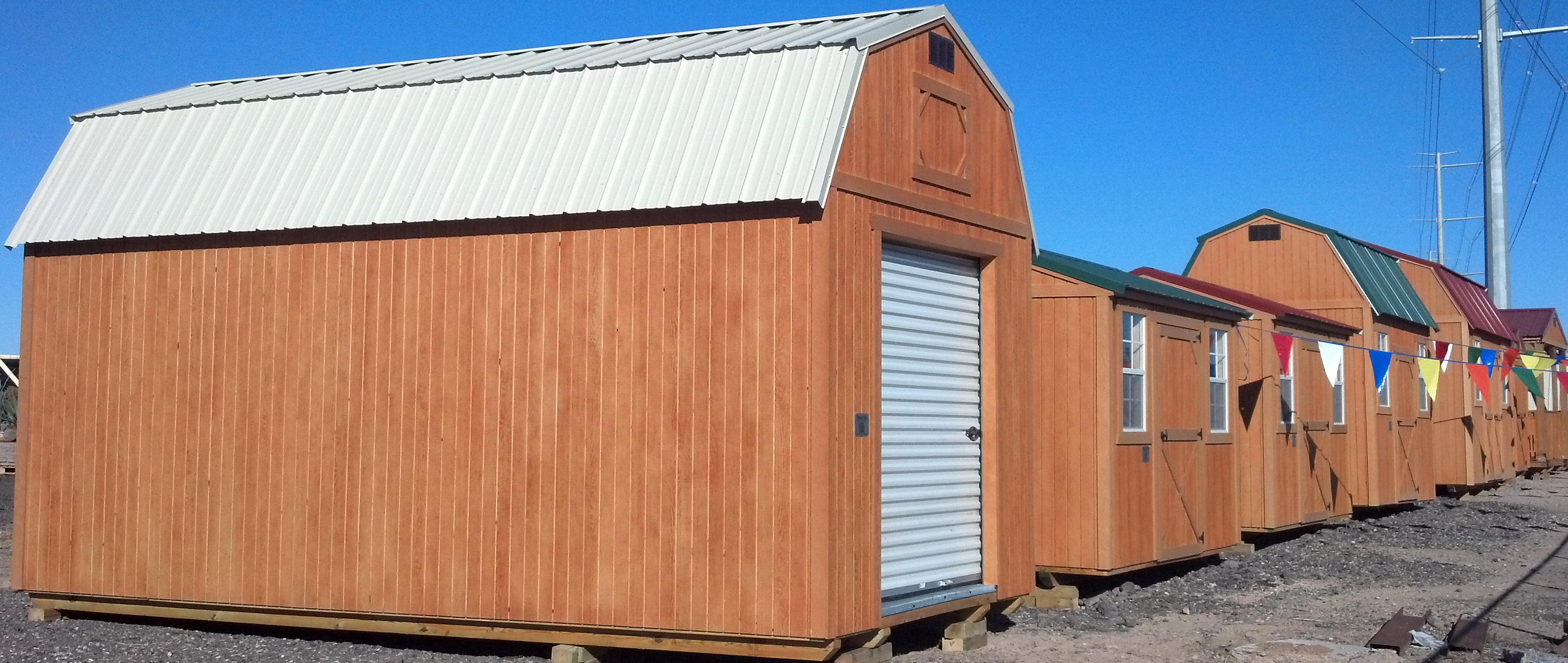 roll youtube up garage barn sheds door watch shed