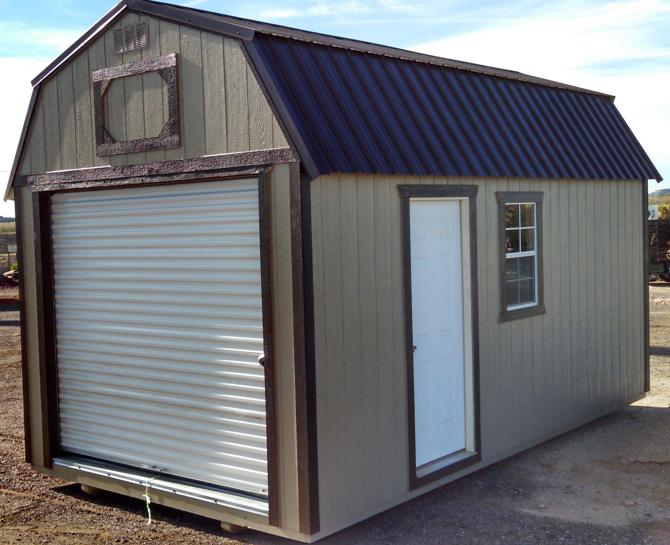 12 39 sizes for Storage shed overhead door