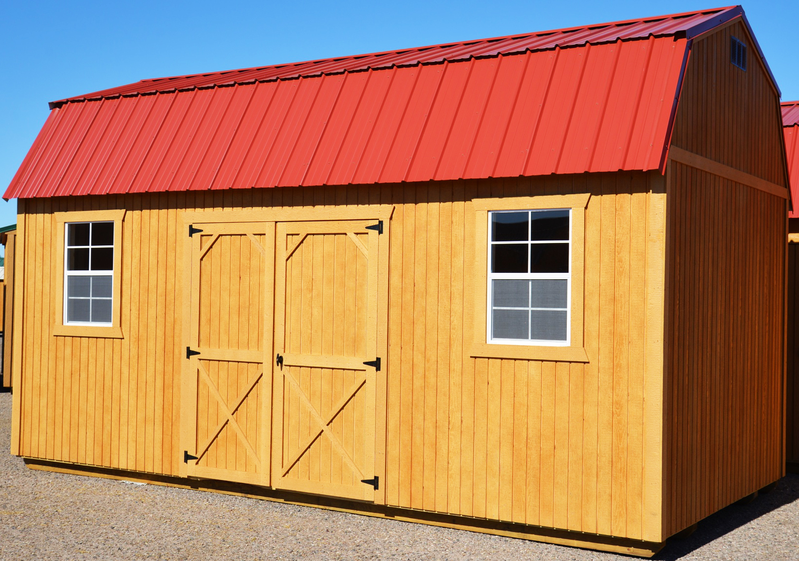 10 39 and 12 39 wide comes with double 36 door for 12x28 shed